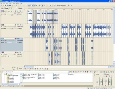 TUTO découpages et edits sous ACID avec fichier acd-zip JloCrazy